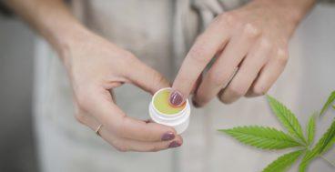 how to apply cbd cream