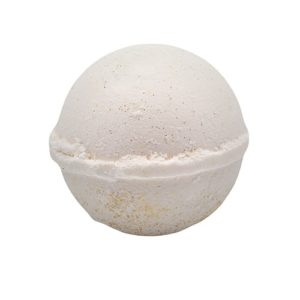 almond coconut bath bomb