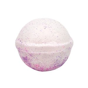 raspbery bath bomb