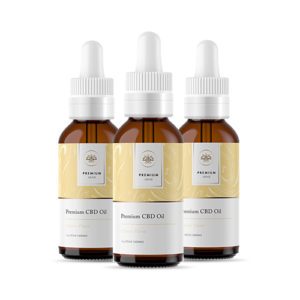 1000mg Citrus CBD Tincture – 1 oz / 30mL (3-Pack)