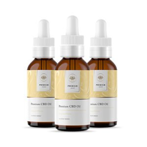 300mg Citrus CBD Tincture - 1 oz / 30mL (3-Pack)